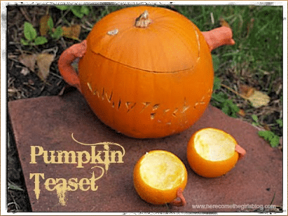 How to Carve a Pumpkin Teapot