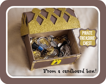 make pirate chest