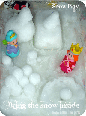 Snow Play small world