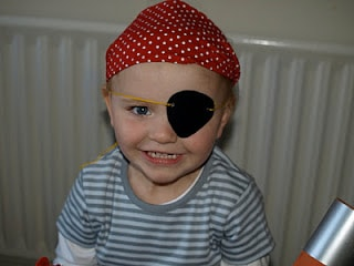 Pirates! Very easy pirate costume