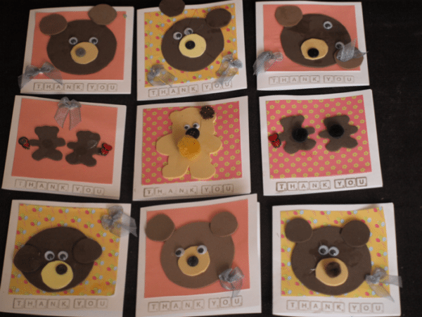 Homemade Cards By 2 Year Olds Here Come The Girls