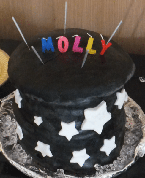 MAGICIAN'S HAT CAKE