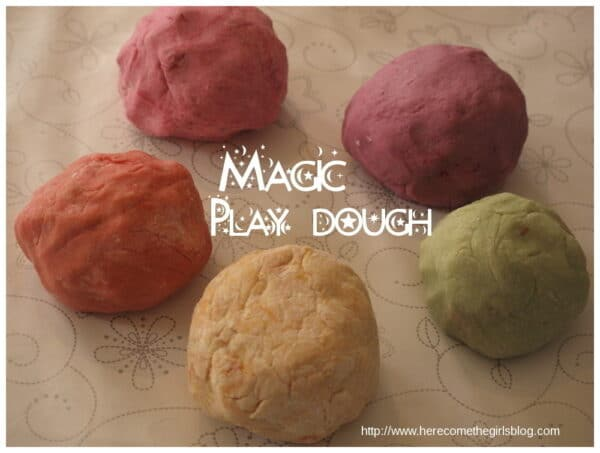 Magic Jelly Playdough