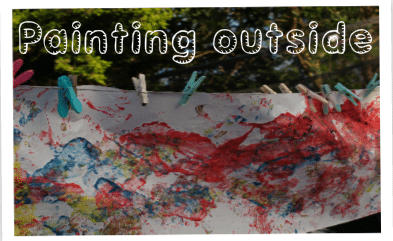 Create A Giant Painting Outside