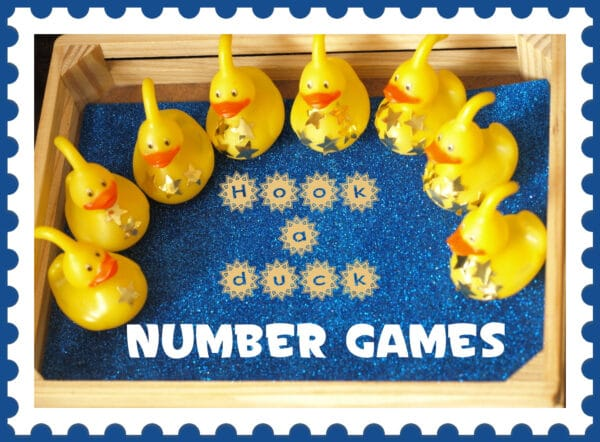 fun ideas for outdoor family pictures - Number Games With Hook a Duck Here e the Girls