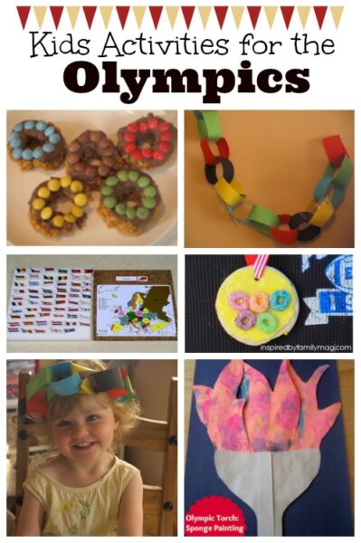 Olympic themed activities for kids