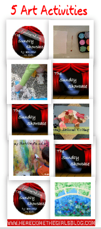 The Sunday Showcase – Art Activities