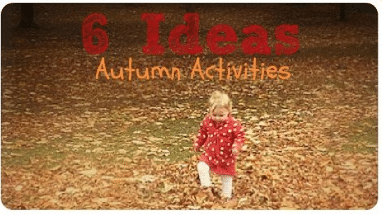The Sunday Showcase – Autumn Activities