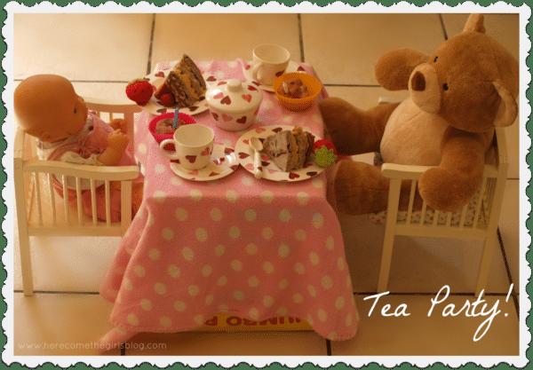 teddy bear tea party