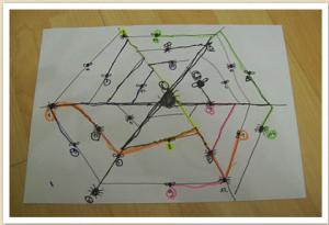 Spider Web maths