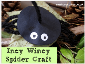 Incy Wincy Spider Craft