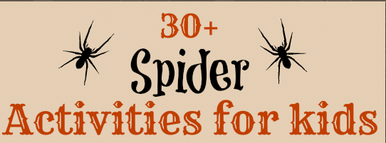 Spider Activities for Kids