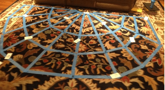 Spider Web Speech and language game