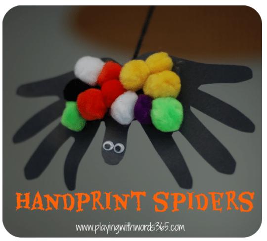 Handprint Spiders