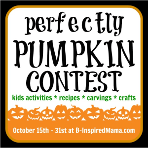 Perfectly Pumpkin contest
