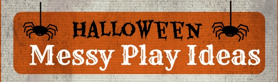 Sunday Showcase: Halloween Messy Play