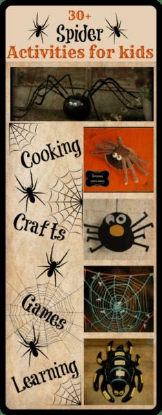 Spider activities for kids