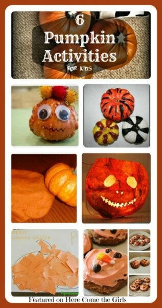 6 pumpkin activities for kids