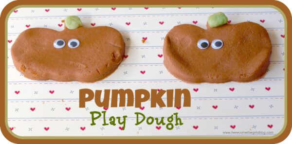 Pumpkin Play dough – Guest post