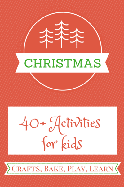 Christmas Activities for Kids | Here Come the Girls