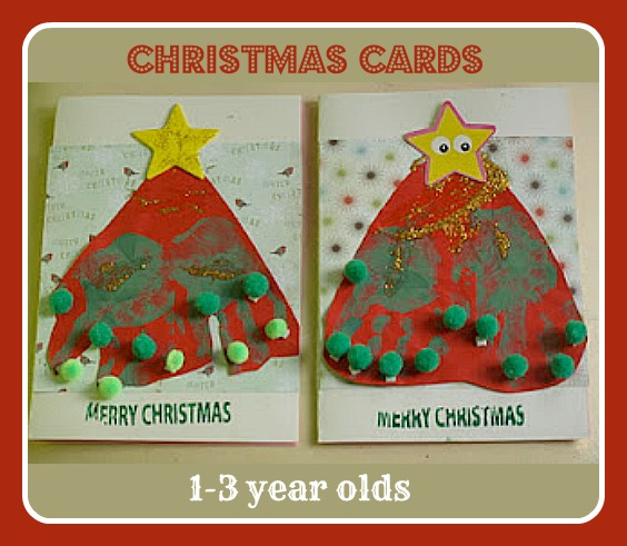 Exceptional Easy Christmas Cards For Toddlers