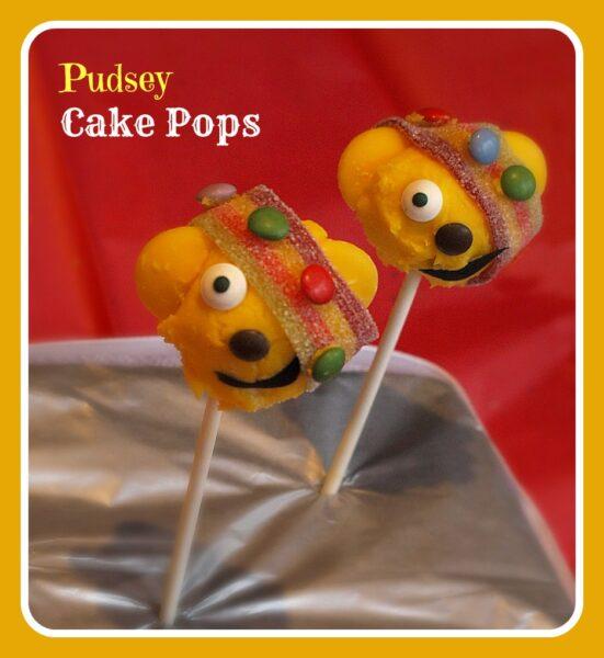Pudsey Chocolate Cake