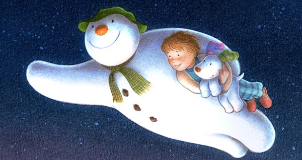Win The Snowman On DVD plus a snowman bean toy