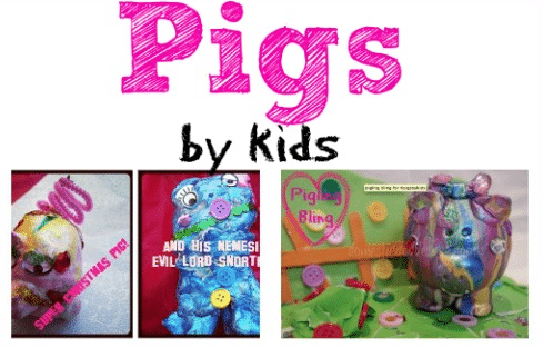 Sunday Showcase: Piggies!