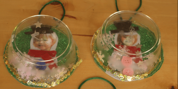 Snow Globe Christmas Ornaments