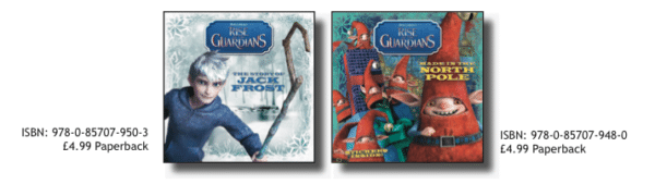 Win 5 Rise of the Guardians Books