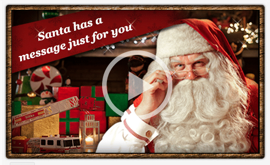 A Video Message from Santa – Review and discount code