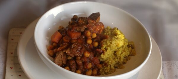 Moroccan lamb stew recipe
