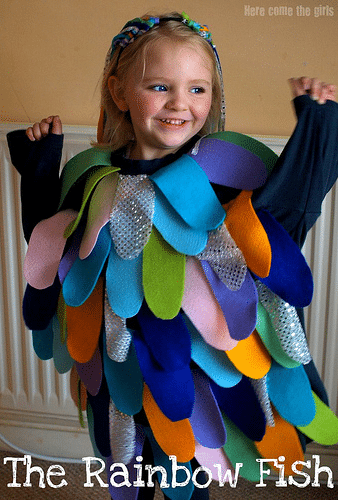 The rainbow fish activities for early years here come for Rainbow fish costume
