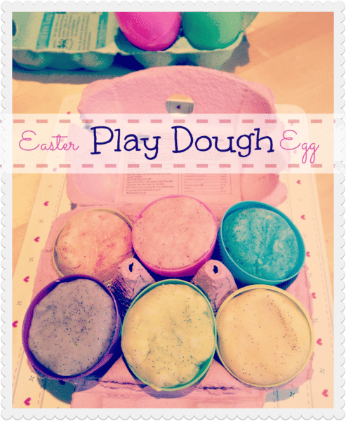 Easter Egg Play Dough