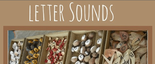 The Sunday Showcase: Learning Letter Sounds
