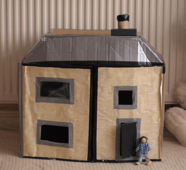 Cardboard Box Dolls House Here Come The Girls