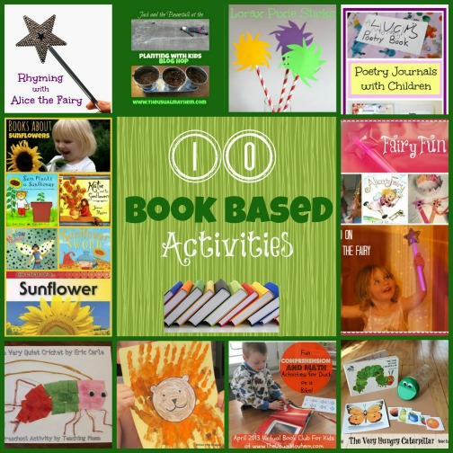 book based activities