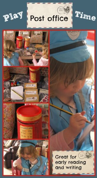 Role play for preschoolers: a great way to encourage early reading and writing skills
