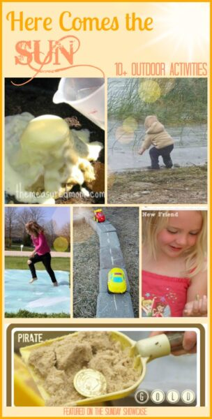 10+ Outdoor activities for kids to celebrate the warmer weather - I can't wait for Summer!