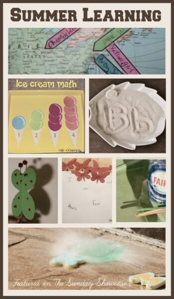8 fun ideas for Summer learning - a great way to ease children into returning to school