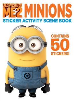 Minions sticker book