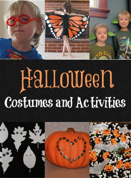 Halloween Costumes and Activities