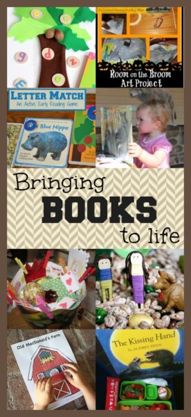 10 fun activities and crafts to bring books to life. A great way to inspire a lifelong love of reading