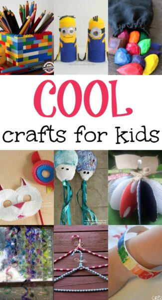Cool crafts for kids here come the girls for Neat craft ideas