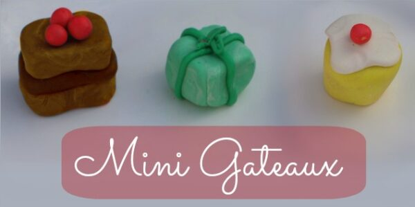 polymer clay petits fours