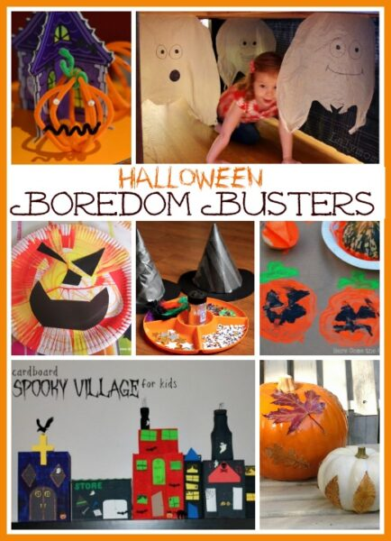 Halloween boredom busters: fun ideas to keep the kids occupied in the run up to Halloween