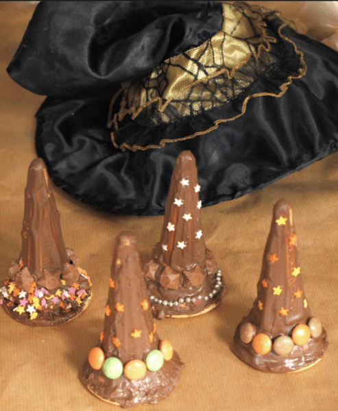 Witches Hat Treats for Halloween