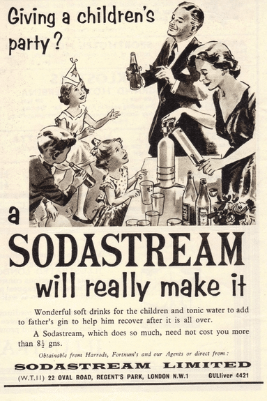 vintage SodaStream advert