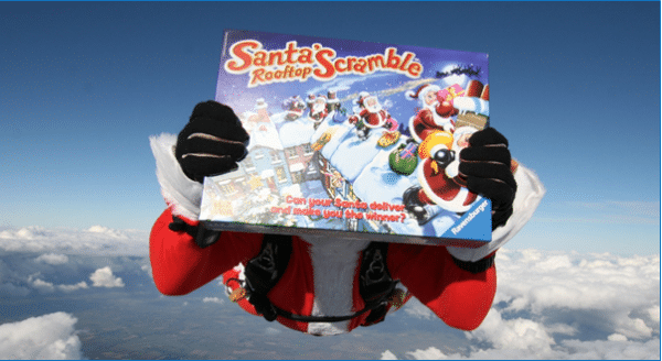 Santa's Rooftop Scramble Review