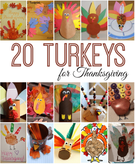 20 turkey activities for kids